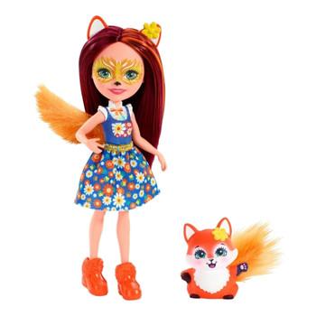 Enchantimals FELICITY FOX Doll & FLICK Animal Friend