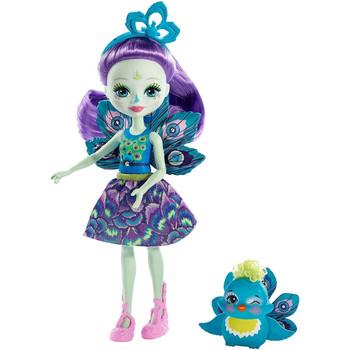 Enchantimals PATTER PEACOCK Doll & FLAP Animal Friend