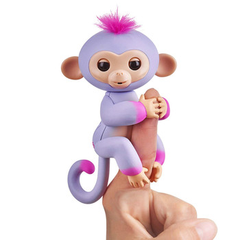 Fingerlings 2Tone Baby Monkey SYDNEY Interactive Pet