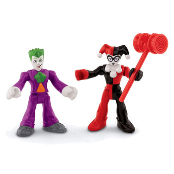 Imaginext DC Super Friends THE JOKER & HARLEY QUINN Action Figures