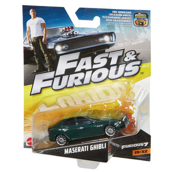 Fast & Furious MASERATI GHIBLI 1:55 Scale Die-Cast Vehicle