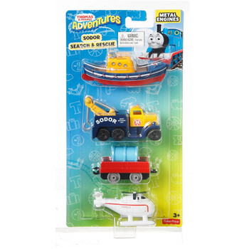 Thomas & Friends Adventures SODOR SEARCH & RESCUE Die-Cast Multipack
