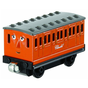 This durable die-cast carriage features magnets which allow you to connect (either way) with other Take-n-Play engines or tenders.
