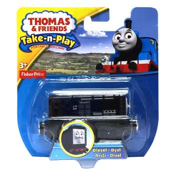 Thomas & Friends Take-n-Play DIESEL Die-Cast Engine in packaging.