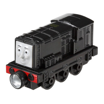 This durable die-cast toy features magnet connectors which allow you to connect other Take-n-Play engines or tenders. Perfect for Take-n-Play Portable Fold-Out Play Sets (sold separately).