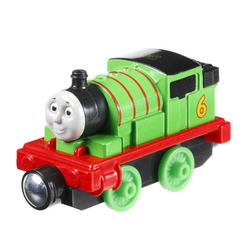 This durable die-cast toy features magnet connectors which allow you to connect other Take-n-Play engines or tenders.