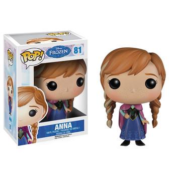 """Funko POP! Disney Frozen ANNA 3.75"""" Vinyl Figure #81"""
