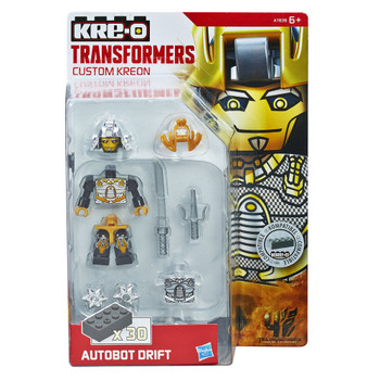 Kre-O Transformers Age of Extinction Custom Kreon AUTOBOT DRIFT Buildable Mini Figure