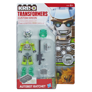 Kre-O Transformers Age of Extinction Custom Kreon AUTOBOT RATCHET Buildable Mini Figure