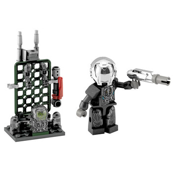 Kre-O Transformers Age of Extinction Custom Kreon LOCKDOWN Buildable Mini Figure