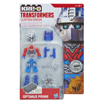 Kre-O Transformers Age of Extinction Custom Kreon OPTIMUS PRIME Buildable Mini Figure