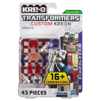 Kre-O Transformers Custom Kreon STARSCREAM Buildable Mini Figure