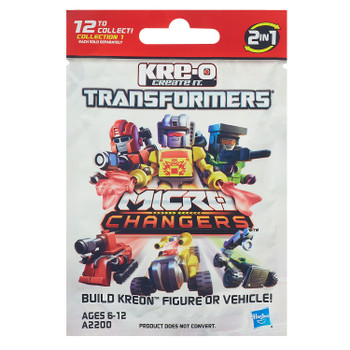 Kre-O Transformers Micro-Changers Kreon DECEPTICON HOOK Buildable Mini Figure