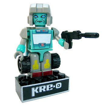 Kre-O Transformers Micro-Changers Kreon AUTOBOT KUP Buildable Mini Figure