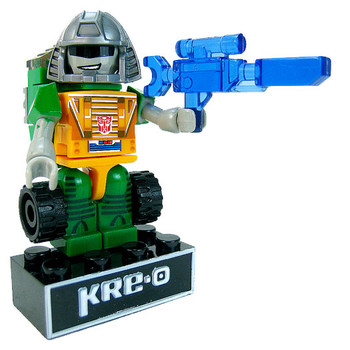 Kre-O Transformers Micro-Changers Kreon BRAWN Buildable Mini Figure