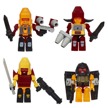 Kre-O Transformers Micro-Changers Combiners PREDAKING Construction Set