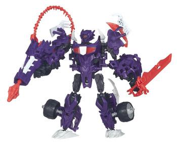 Transformers Beast Hunters Construct-Bots Elite Class SHOCKWAVE Buildable Action Figure