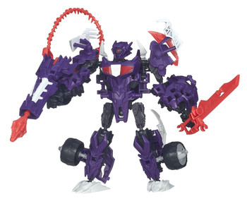 Transformers Beast Hunters Construct-Bots Elite Class SHOCKWAVE Buildable Action Figure
