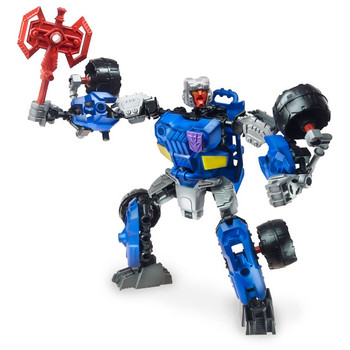 Transformers Construct-Bots Scout Class DECEPTICON BREAKDOWN Buildable Action Figure