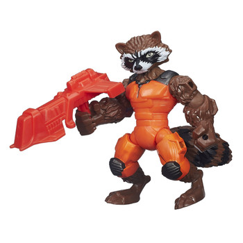 Marvel Avengers Super Hero Mashers ROCKET RACCOON Action Figure