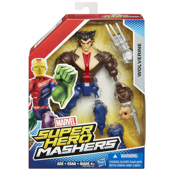 Marvel Avengers Super Hero Mashers WOLVERINE Action Figure
