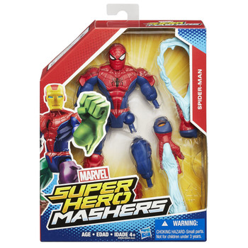 Marvel Avengers Super Hero Mashers SPIDER-MAN Action Figure