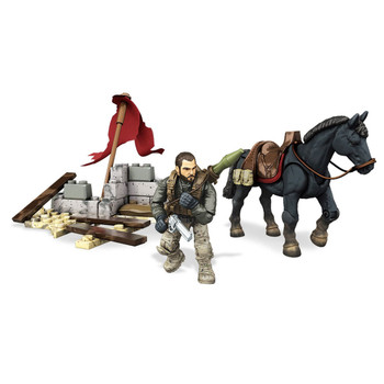Mega Bloks Call of Duty HORSEBACK ASSAULT Collector Construction Set