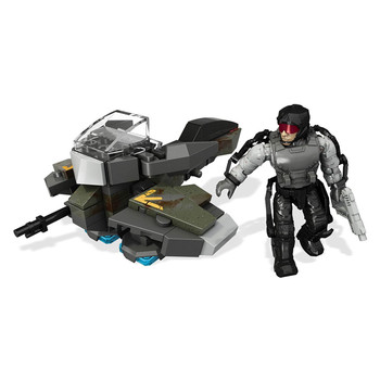Mega Bloks Call of Duty HOVERBIKE RAID Collector Construction Set