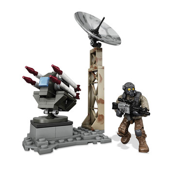 Mega Bloks Call of Duty ROCKET TURRET Collector Construction Set