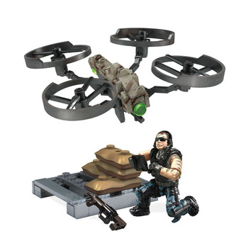 Mega Construx Call of Duty DRAGONFIRE DRONE STRIKE Collector Construction Set