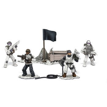 Mega Construx Call of Duty ARCTIC TROOPERS Collector Construction Set