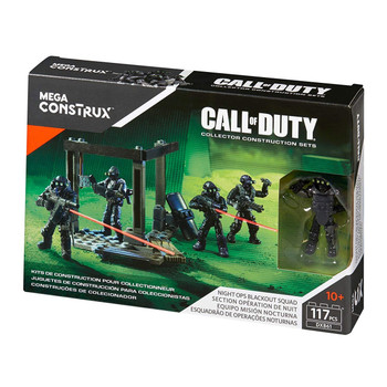 Mega Construx Call of Duty NIGHT OPS BLACKOUT SQUAD Collector Construction Set