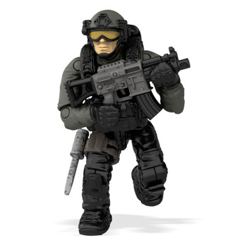 Mega Construx Call of Duty JUNGLE PARATROOPER Collector Construction Set