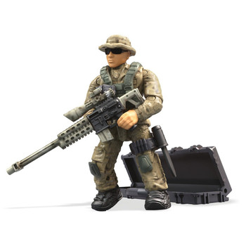Mega Construx Call of Duty Specialists Series 3: DESERT SNIPER Figure