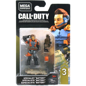 "Mega Construx Call of Duty Specialists Series 3: ERIN ""BATTERY"" BAKER Figure"