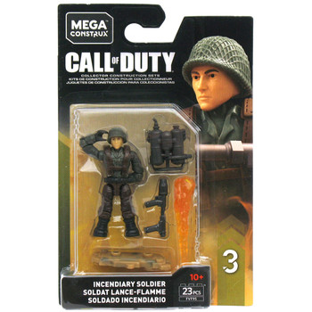 Mega Construx Call of Duty Specialists Series 3: INCENDIARY SOLDIER Figure