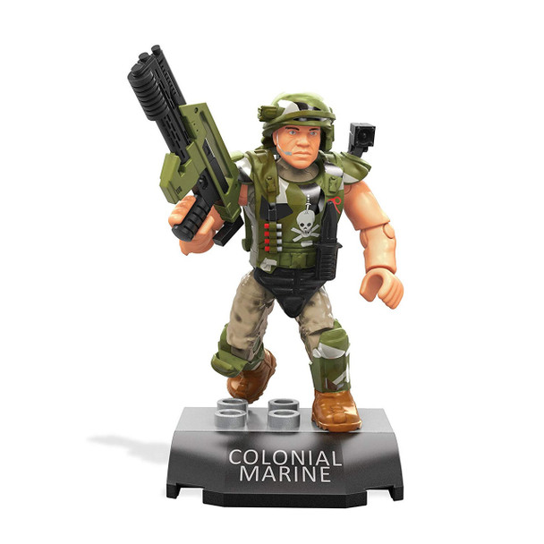 Mega Construx Heroes Series 1: Aliens COLONIAL MARINE Buildable Figure