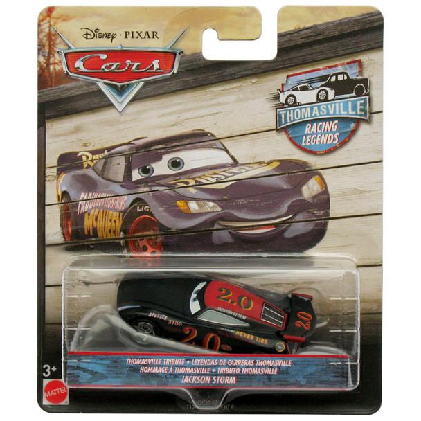 Disney Pixar Cars: Thomasville Racing Legends JACKSON STORM 1:55 Scale Die-Cast Vehicle in packaging