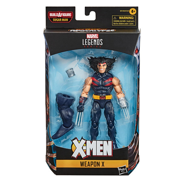 Marvel Legends X-Men: Age of Apocalypse Series 6-Inch WEAPON X Action Figure in packaging.