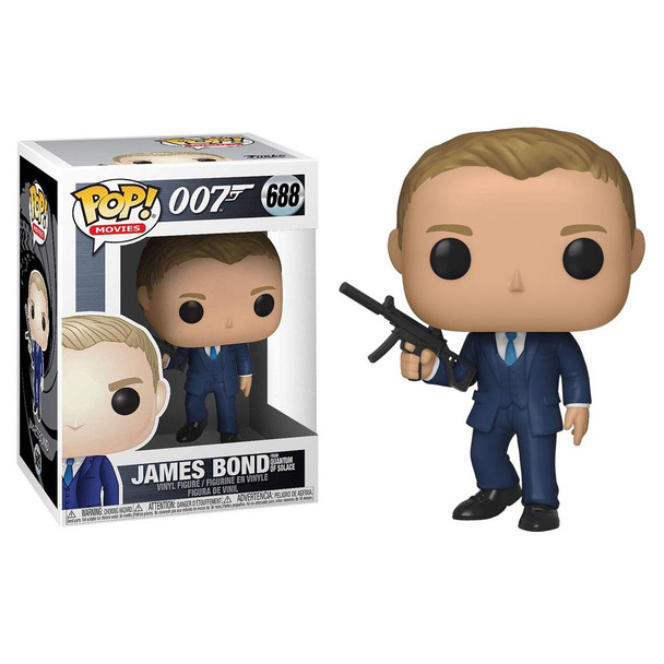 Fans of British Secret Service agent 007 are in for a treat with Pop! Daniel Craig from Quantum of Solace.