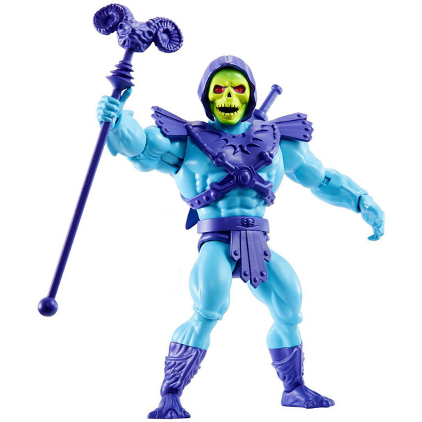 The Evil Lord of Destruction, Skeletor, as a 5.5-inch (14 cm) action figure.