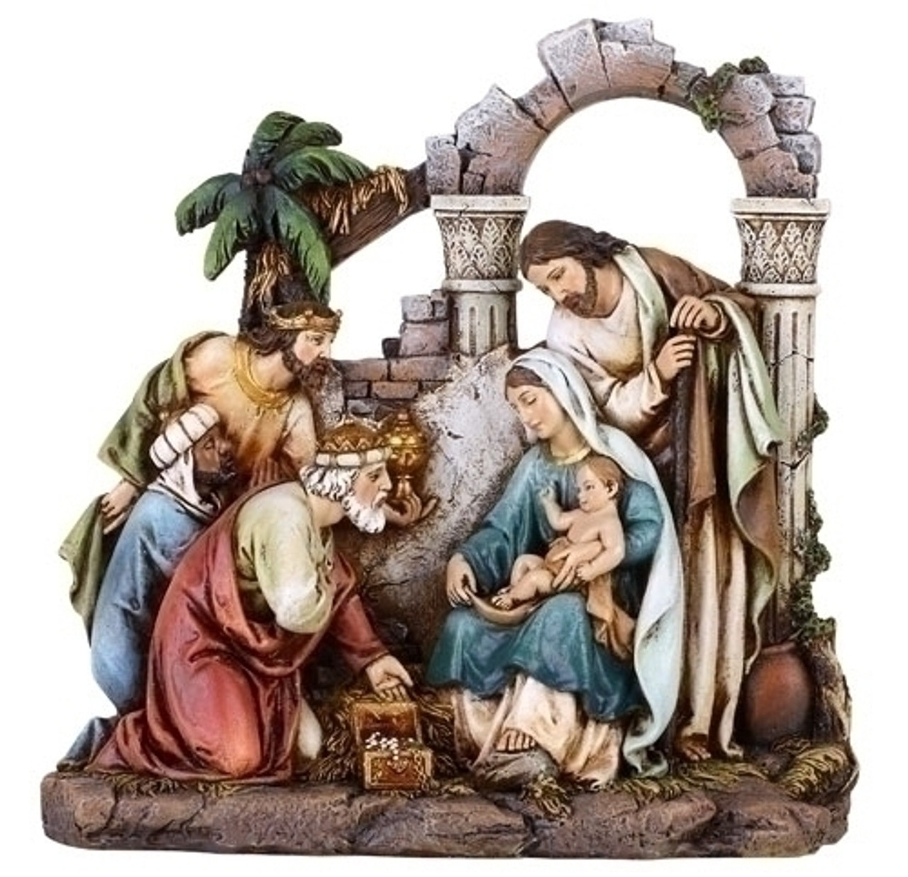 Christmas Figurines and Scenes