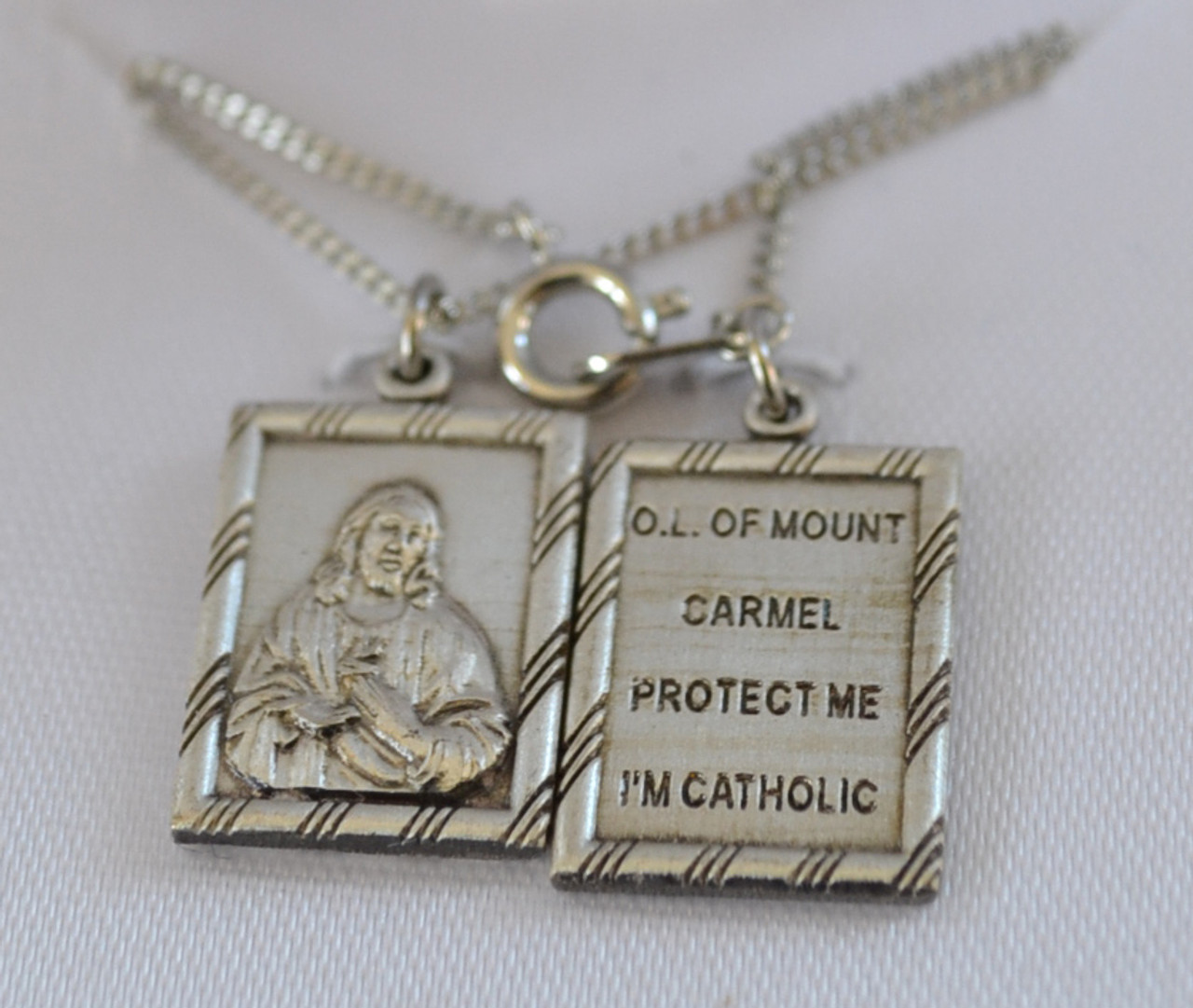 Necklace - Scapulars and Miraculous Medals