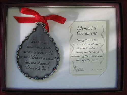Him memorial ornament