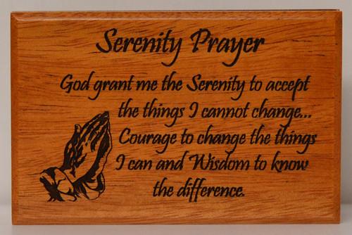 LCT - HJS - Serenity Prayer Keepsake