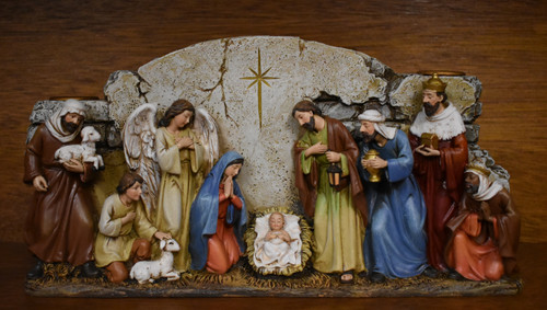LCT-JS, Nativity Wall Advent candleholder