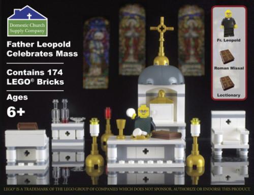 LCT-DCSC Fr. Leopold celebrates mass