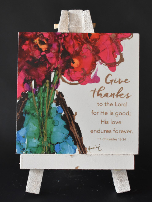 LCT-CA Gift-easel, give thanks