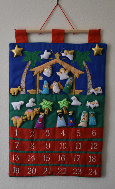 LCT-VCC Fabric Advent Calendar