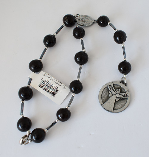 Decade Car Rosary w/Angel Disc
